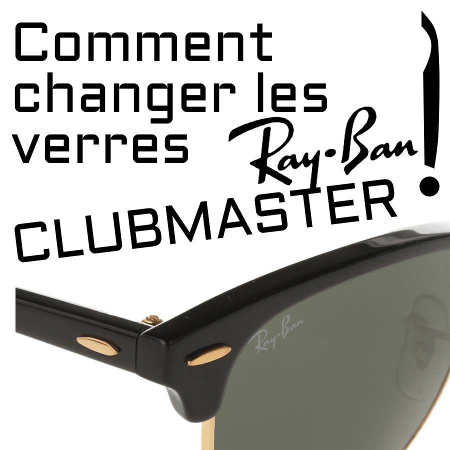 ¿Cómo cambiar las lentes Ray-Ban Clubmaster modelo RB3016